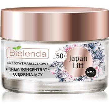 Bielenda Japan Lift crema de noapte pentru fermitate 50+ poza noua