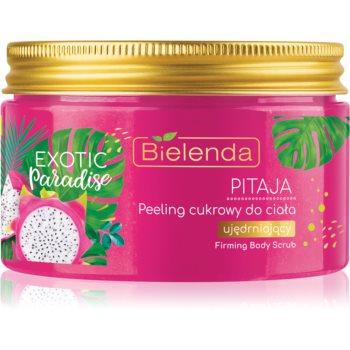 Bielenda Exotic Paradise Pitaya exfoliant din zahar cu efect de întărire