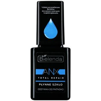 Image of Bielenda AXN Total Repair Liquid Glass Regenerating Conditioner For Nails Color Delicate Pink 11 ml