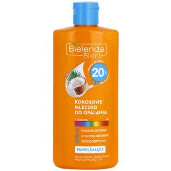 Bielenda Bikini Coconut lotiune hidratanta SPF 20 imagine produs