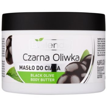 Bielenda Black Olive manteiga corporal  para pele seca a muito seca
