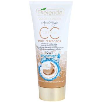 Bielenda Color Control Body Perfector voděodolný tělový CC krém se samoopalovacím účinkem SPF 6 175 ml
