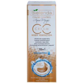 Bielenda Color Control Body Perfector CC creme à prova d'água com efeito de bronzeamento artificial 2