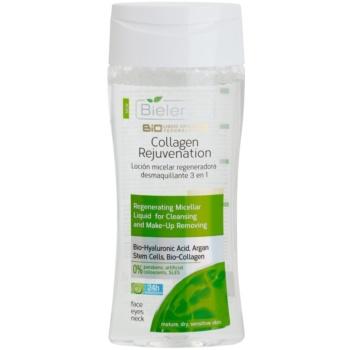 Bielenda BioTech 7D Collagen Rejuvenation 40+ apa pentru curatare cu particule micele efect regenerator