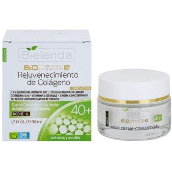 Bielenda BioTech 7D Collagen Rejuvenation 40+ crema de noapte intensiva pentru fermitatea pielii 1