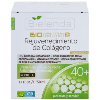 Bielenda BioTech 7D Collagen Rejuvenation 40+ crema de noapte intensiva pentru fermitatea pielii 2