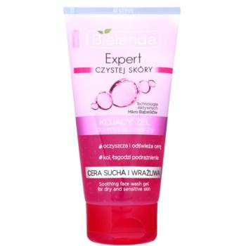 Bielenda Expert Pure Skin Soothing gel de curatare pentru ten uscat si sensibil