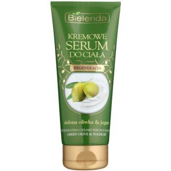 Bielenda Green Olive & Yoghurt krémové sérum na tělo s regeneračním účinkem