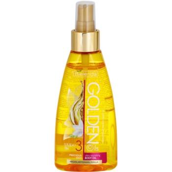 Bielenda Golden Oils Ultra Nourishing olejek do ciała w sprayu do skóry suchej