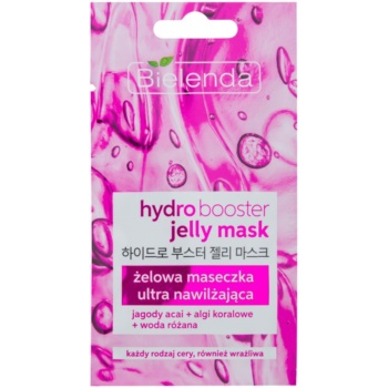 Image of Bielenda Jelly Mask Hydro Booster Ultra Hydrating Gel Mask For Face 8 g