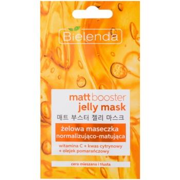 Bielenda Jelly Mask Matt Booster mască normalizatoare - matifiantă pentru ten mixt si gras