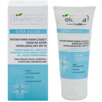Bielenda Pharm Dry Skin crema intens hidratanta care întărește bariera pielii SPF 10 1
