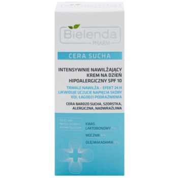 Bielenda Pharm Dry Skin crema intens hidratanta care întărește bariera pielii SPF 10 2