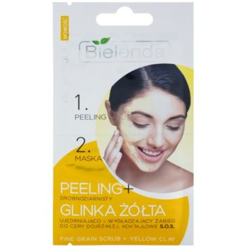 Bielenda Professional Formula peeling i maseczka ujędrniający skórę