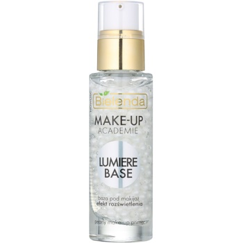 Bielenda Make-Up Academie Lumiere Base baza de machiaj iluminatoare