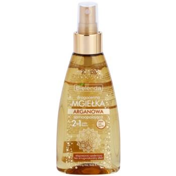 Bielenda Precious Oil  Argan Self-Tanning Mist For Face And Body