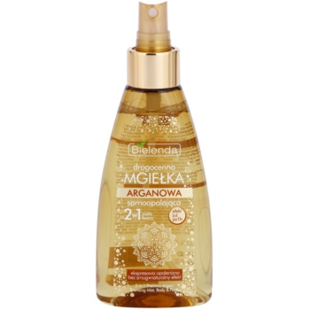 Bielenda Precious Oil  Argan Self-Tanning Mist For Face And Body 1
