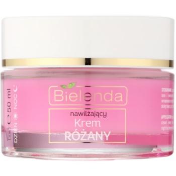 Bielenda Rose Care cremă hidratanta roz pentru piele sensibila   50 ml