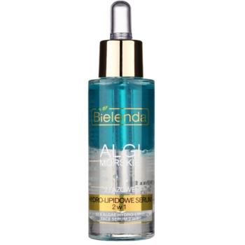 Bielenda Sea Algae Hydro-Lipid Ser bifazic impotriva imbatranirii pielii  30 ml