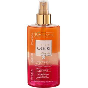 Bielenda Sensual Body Oils Mehr-Phasen-Bodyöl mit regenerierender Wirkung