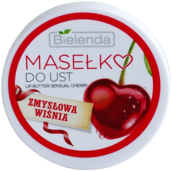 Bielenda Sensual Cherry cuidado lábial de manteiga 1