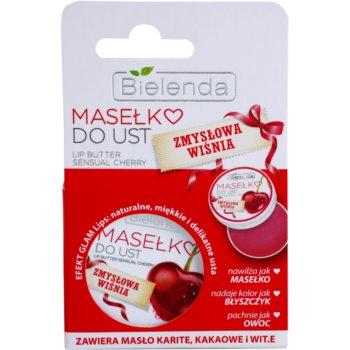 Bielenda Sensual Cherry Unt de ingrijire a buzelor 2