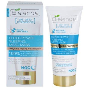 Bielenda Skin Clinic Professional Moisturizing masca hidratanta de noapte ten uscat 1