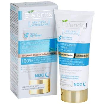 Bielenda Skin Clinic Professional Moisturizing masca hidratanta de noapte ten uscat 2