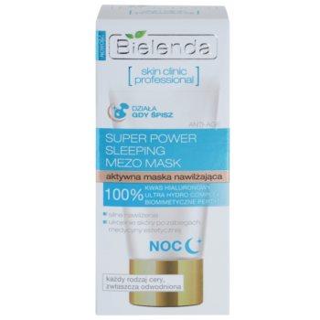 Bielenda Skin Clinic Professional Moisturizing masca hidratanta de noapte ten uscat 3