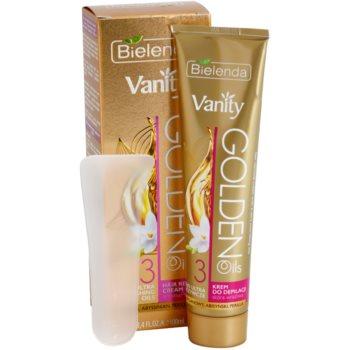 Bielenda Vanity Golden Oils depilacijska krema za občutljivo kožo 1