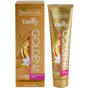Bielenda Vanity Golden Oils depilacijska krema za občutljivo kožo 2
