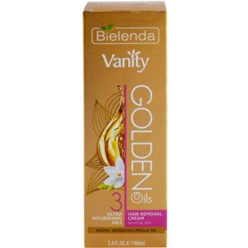 Bielenda Vanity Golden Oils depilacijska krema za občutljivo kožo 3