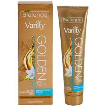 Bielenda Vanity Golden Oils Enthaarungscreme für trockene Haut 2