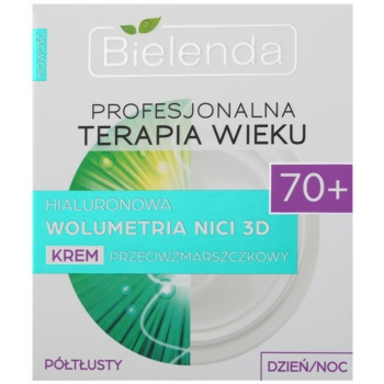Bielenda Professional Age Therapy Hyaluronic Volumetry NICI 3D crema anti-rid 70+ 2