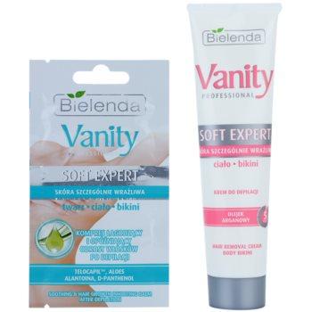 Bielenda Vanity Soft Expert depilacijska krema za telo s hranilnim učinkom