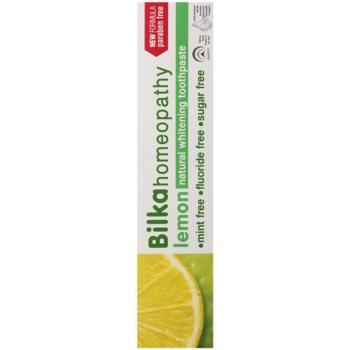 Bilka Homeopathy bělicí zubní pasta 2