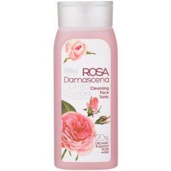 Bilka Rosa Damascena Toner pentru curatarea pielii cu apa de trandafir