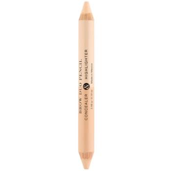 Billion Dollar Brows Color & Control Creion contur sprâncene 2 in 1