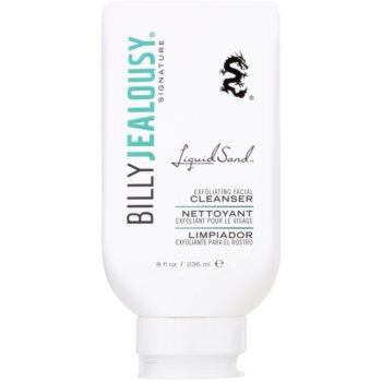 Billy Jealousy Signature Liquid Sand gel exfoliant de curatare