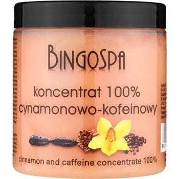 BingoSpa Caffeine & Cinnamon zoštíhľujúci koncentrát