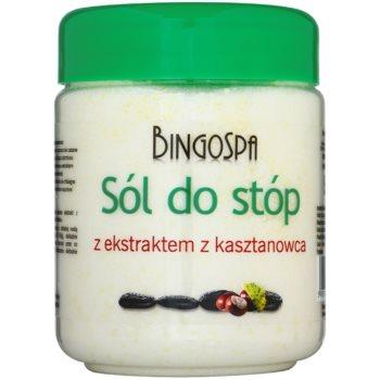BingoSpa Chestnut kúpeľová soľ na nohy so sklonom k opuchom a kŕčovým žilám