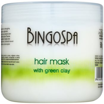 BingoSpa Green Clay maska za lase