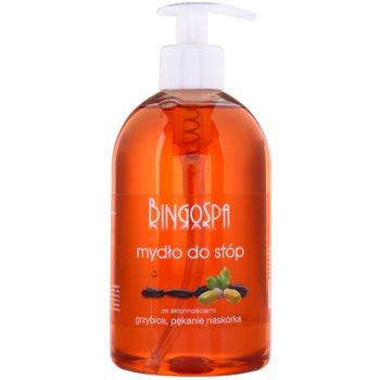 BingoSpa Oak Bark tekuté mydlo na nohy so sklonom k mykózam a praskaniu kože