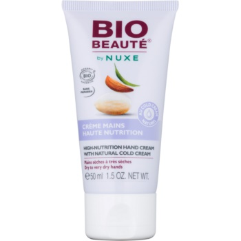 Bio Beauté by Nuxe High Nutrition crema de maini contine emulsie Cold cream