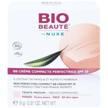 Bio Beauté by Nuxe Skin-Perfecting kompaktna BB krema z izvlečkom manga in mineralnimi pigmenti SPF 20 2