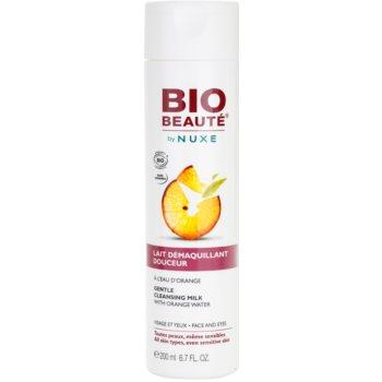 Bio Beauté by Nuxe Cleansing очищаюче молочко з апельсиновою водою
