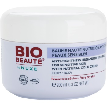 Bio Beauté by Nuxe High Nutrition balsam pentru hidratare intensiva contine emulsie Cold cream