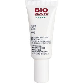 Bio Beauté by Nuxe Moisturizers energizující péče na oční okolí s buňkami z klementinek 15 ml