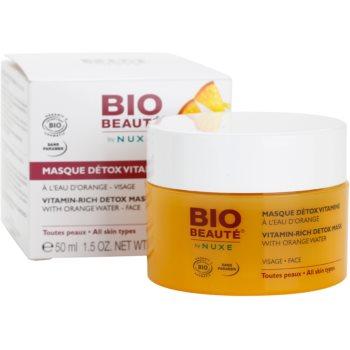 Bio Beauté by Nuxe Masks and Scrubs masca detoxifianta cu vitamine cu extras de portocala 3