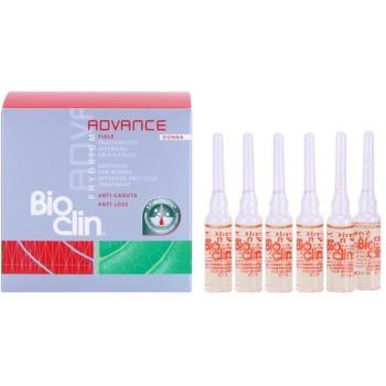 Bioclin Phydrium Advance ampulky proti padání vlasů pro ženy